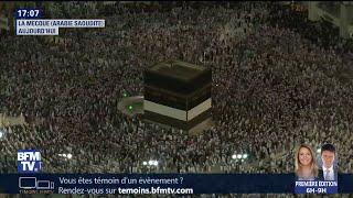 En Arabie Saoudite, début du pèlerinage à La Mecque pour 2 millions de musulmans