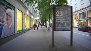 Sweden, Stockholm, walking from Vasagatan to Sveavägen 20