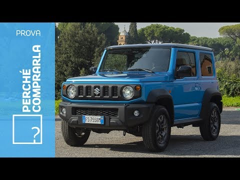Suzuki Jimny 2018 Perché comprarla e perché no