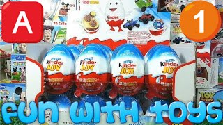 24 Kinder Joy Eggs---For Boys【Surprise Egg】00726+en