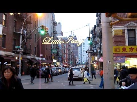 New York  Little Italy USA Нью Йорк. Манхэттен. Район Маленькая Италия.