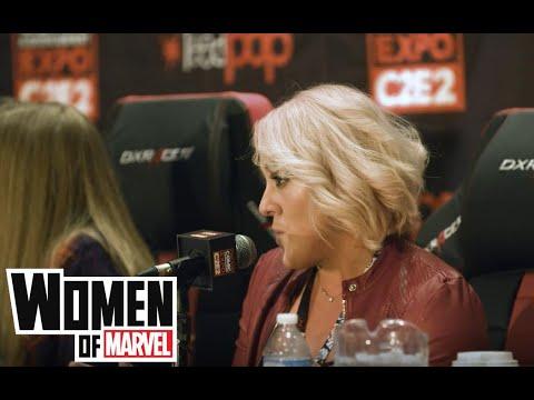 Rachelle Rosenberg and the Women of Marvel Podcast at C2E2 2018