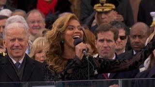 Did Beyonce Lip-Sync National Anthem?