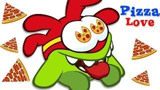 🍕❤️ Love For PIZZA Om Nom Stories -Cut The Rope | Funny Cartoons for Kids  सुपर नॉम | अॉम नॉम हिंदी
