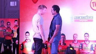 Sunrisers Team Players Performing Dubsmash | Yuvaraj | David Warner | Dhawan | 2017 | IPL10