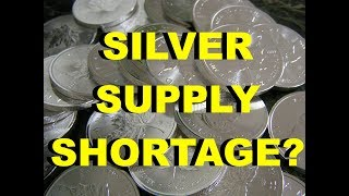 Silver Supply Crisis Ahead?   Silver Fortune