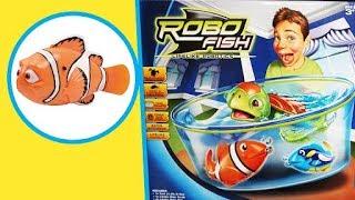 Robo Fish Lifelike Robotics   Unboxing Toys   Cartoons Central