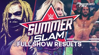 WWE SummerSlam 2019 Full Show Results