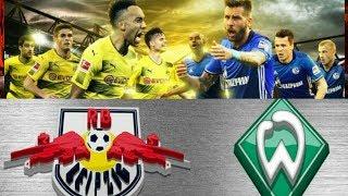Real Madrid vs Malaga +Dortmund vs Schalke 04 + Augsburg vs Wolfsburg +Werder vs Liepzieg