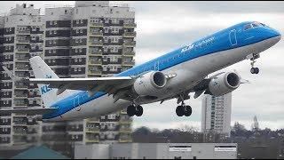 Winter Plane Spotting at London City Airport, 28-01-18