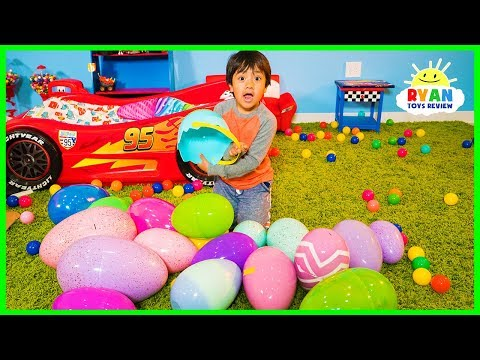 Xxx Mp4 Huge Easter Egg Hunt Surprise Toys Challenge For Kids With Ryan ToysReview 3gp Sex