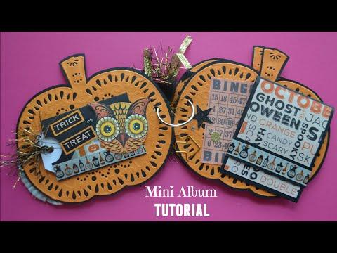 Xxx Mp4 Halloween Mini Album Tutorial Little Hot Tamale 3gp Sex