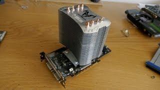 CPU cooler on GPU (INSANE temps!)