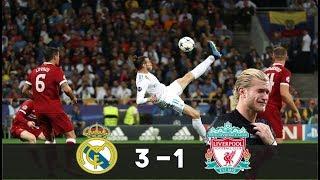 Real Madrid vs Liverpool (3-1) - BALE dans la LÉGENDE, SALAH se blesse !