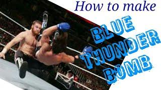 WWE 2011 how to make saim zayn ( blue thunder powerbomb )