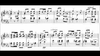 Pyotr Ilyich Tchaikovsky - Humoresque, Op. 10 No. 2 (audio + sheet music)
