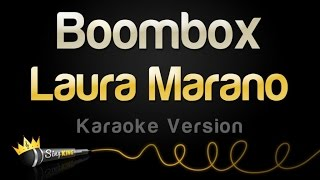 Laura Marano - Boombox (Karaoke Version)