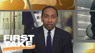 Stephen A. Smith says he needs Carmelo Anthony to 'step it up' | Final Take | First Take | ESPN