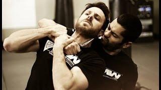 Krav Maga Technique: Knife Defense In A Hostage Situation: Krav Maga Worldwide - Self Defense