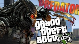 THE REAL PREDATOR MOD w/ NEW POWERS & NEW ABILITIES (GTA 5 Mods Gameplay)