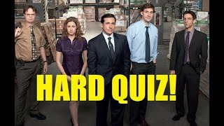 Hard Trivia Quiz on The Office (U.S.)! - Testing Your Neurons