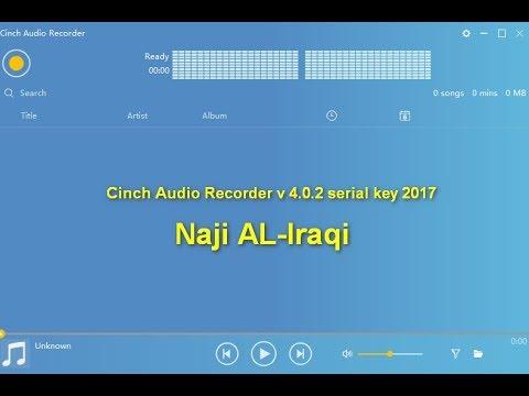 Cinch Audio Recorder V 402 Serial Key 2017