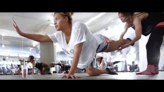 Beyonce Reveals Her Butt Workout