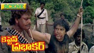 Forest officer fighting with villans - Captain Prabhakar | SarathKumar | Ramya Krishna | V9 Videos