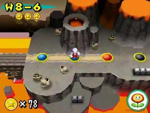 New Super Mario Bros Part 25 World 8 4 8 Castle 1 8 5 8 6 8 7 Walkthrough Nintendo DS gameplay