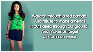 Glee - Clarity (Lyrics)