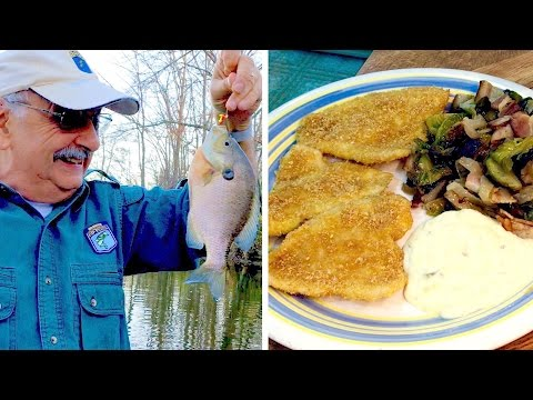 Bluegill Fishing (for a not-too-weird fish dinner)