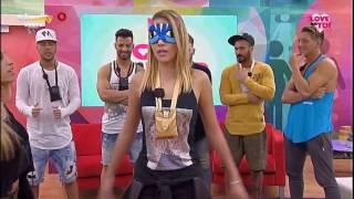 Jessica em lap dance para Bruno Alves