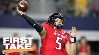 Patrick Mahomes II Is The Antithesis Of Alex Smith   First Take   April 28, 2017