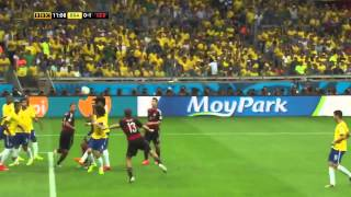 Germany vs Brazil World Cup 2014 7 : 1 Highlights