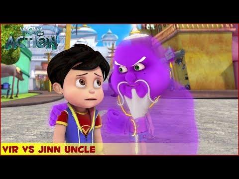 Xxx Mp4 Vir The Robot Boy Vir Vs Jinn Uncle 3D Action Shows For Kids WowKidz Action 3gp Sex