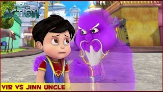 Vir : The Robot Boy   Vir Vs Jinn Uncle   3D Action shows for kids   WowKidz Action