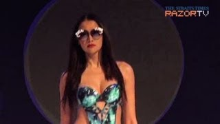 Swimsuit turned party dress (Triumphswimwear 2013 Pt 1)