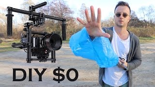 DIY $0 GIMBAL STABILIZER FOR DSLR CAMERA