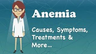 Anemia - Causes, Symptoms, Treatments & More…