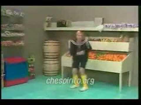 Kiko bailando Arremangala Arrempujala de Los Karkik´s