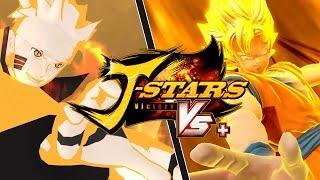 [PS4] J-Stars Victory VS+ Free Battle - Son Goku vs. Naruto Uzumaki | DBZ x Naruto Shippuden