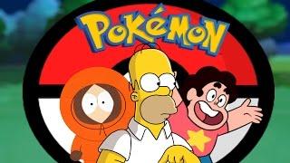 Pokémon EASTER EGGS in Cartoons!
