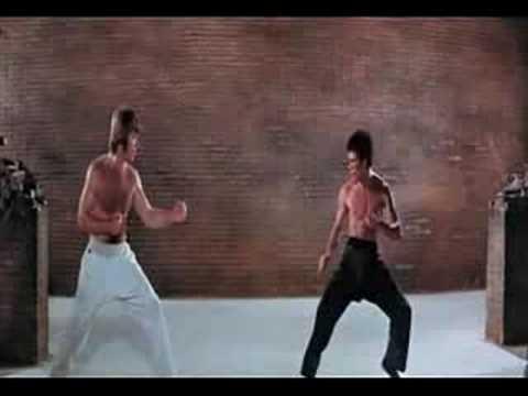 Bruce Lee vs Chuck Norris la pelea del siglo