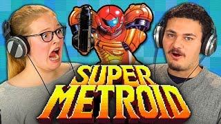 SUPER METROID (30th Anniversary Metroid) (Teens React: Retro Gaming)