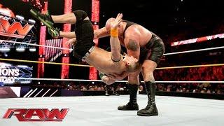 John Cena & Sting vs. Big Show & Seth Rollins: Raw – 14. September 2015
