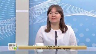 "SEÇİM SİZİN ""Tekstil Teknolojisi Programı"" 1"