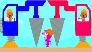 Sago Mini Trucks & Diggers - Play Sago Kids Game Building Sweet Home - Sago Mini Cartoon for kids