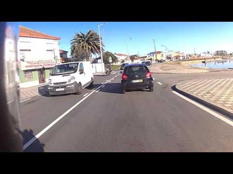 From Ílhavo to Aveiro - Riding on a Honda CBF 125