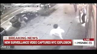 First Video Showing Reverberation from NYC Bomb Explosion