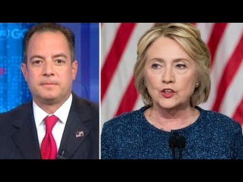 Priebus Hillary Clinton s true colors are coming out